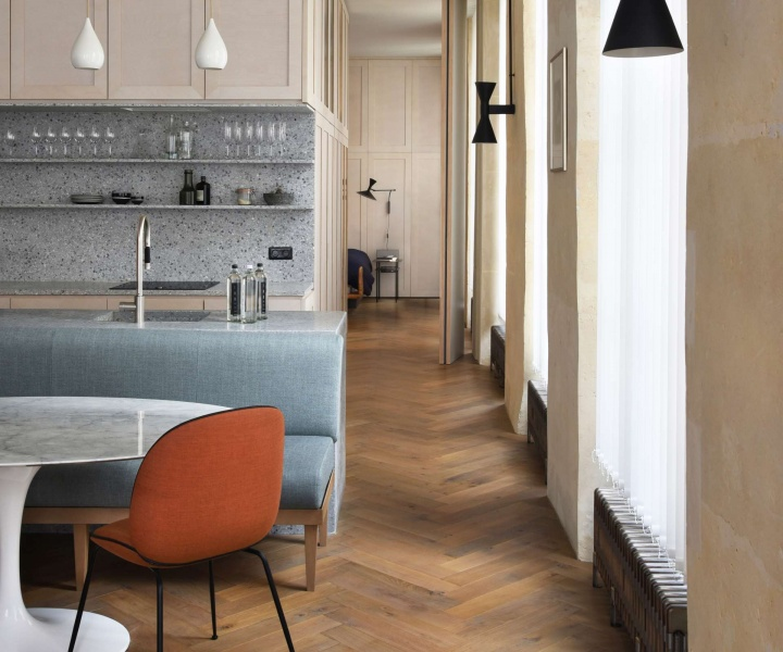 Contemporary and yet Classical: Atelier du Pont Renovates a Historic Parisian Apartment