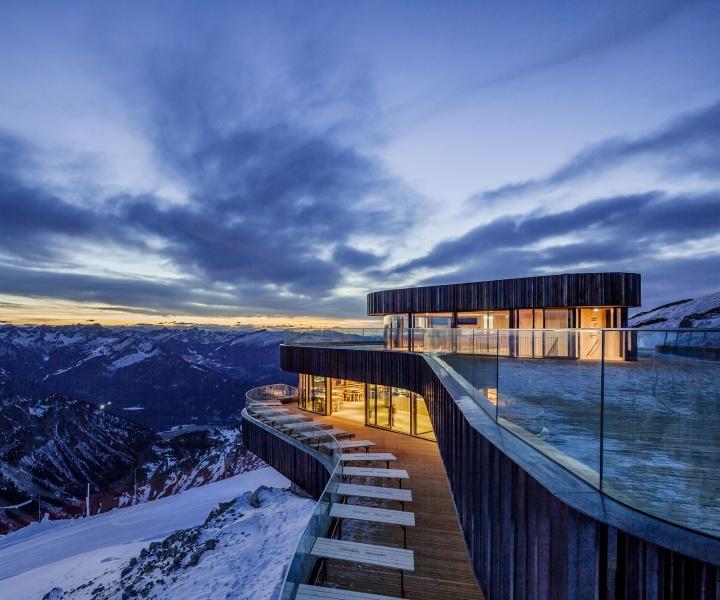 The Alpine Modernism of Nebelhorn Summit Restaurant