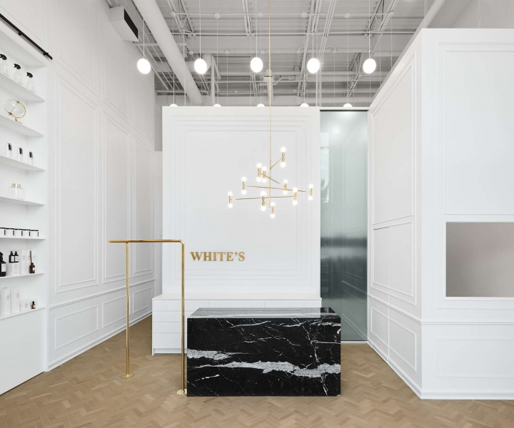 Ivy Studio Reinvents a Montreal Dry Cleaners with Parisian Sophistication