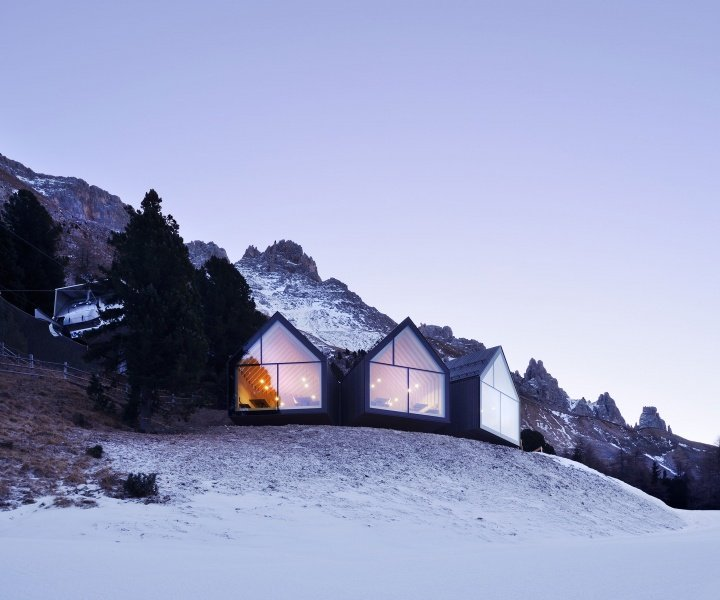 Embracing the Dolomites at the Oberholz Mountain Hut