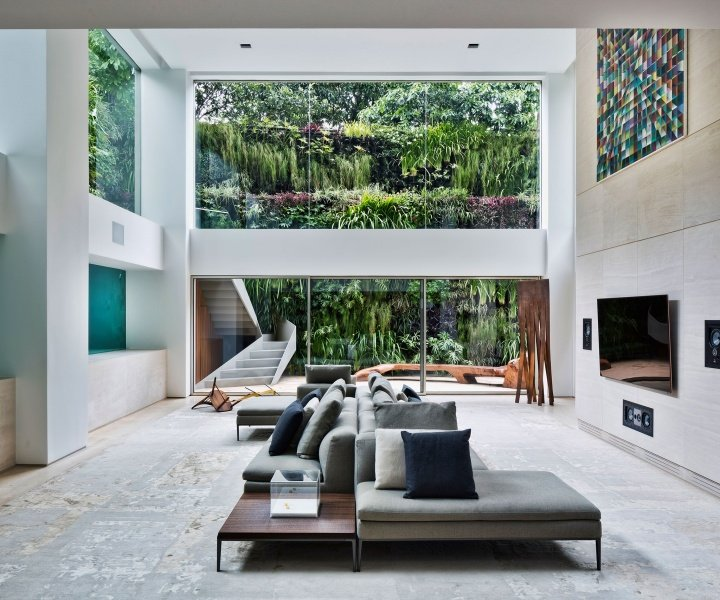 Panorama: An Art Collector's Apartment in São Paulo Showcases its Pool