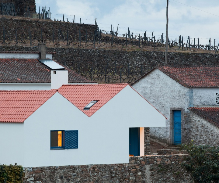 A Contemporary Caretaker's House in Douro Valley, Portugal