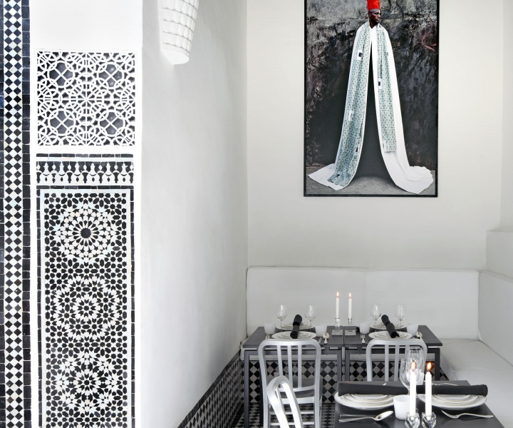 Restaurant Numéro 7 By Bruno Ussel and Stephen di Renza In Fez, Morocco