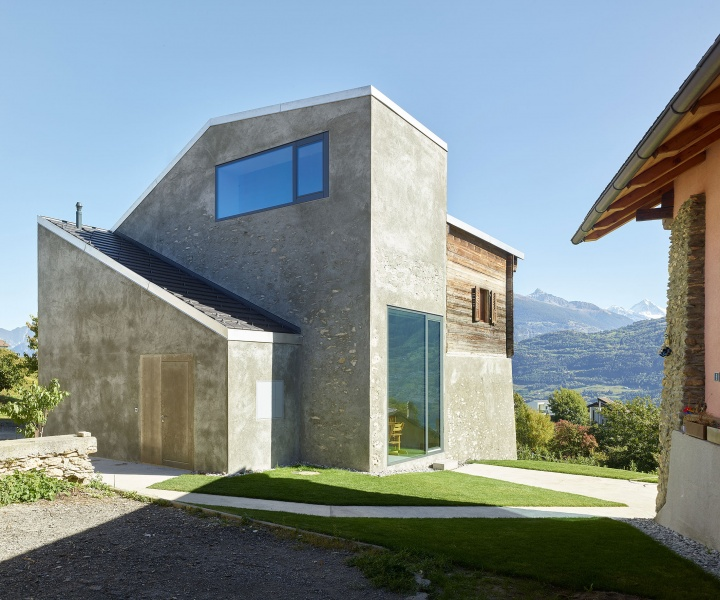 An Interplay of Metal and Wood in the Swiss Alps by Savioz Fabrizzi Architects