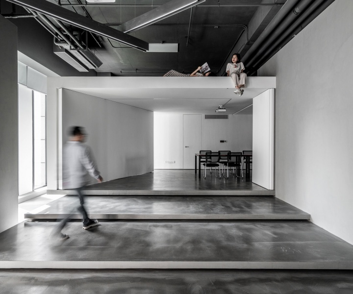 The Rhythmic Abstraction of a New Office Space in Hainan, China