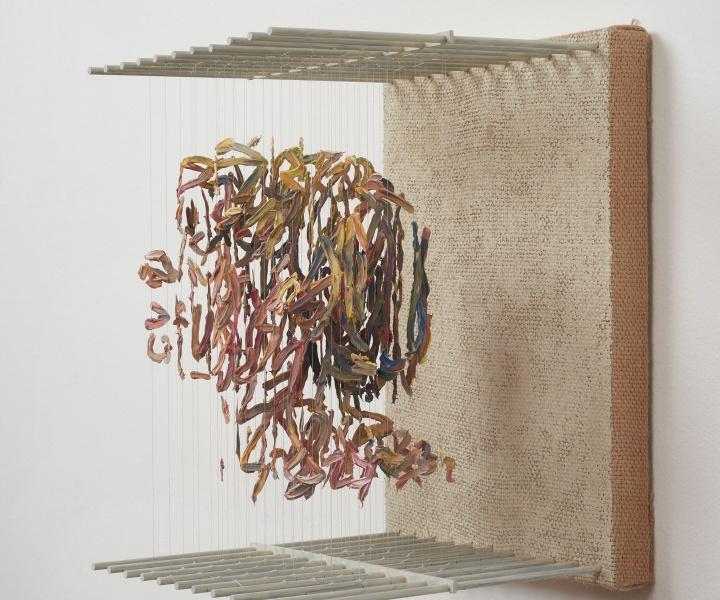 Rosh Series: Chris Dorosz's Gestural Sculptures of Paint