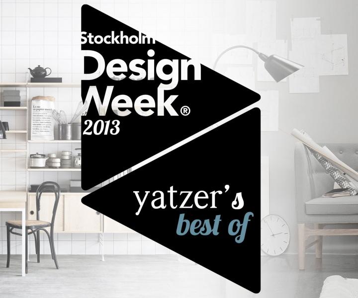 The Highlights Of Stockholm Design Week 2013