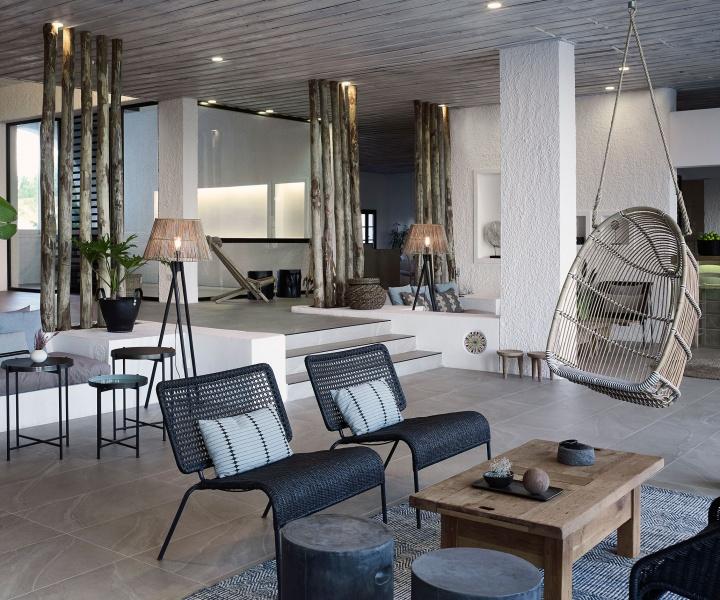 Aegean Rhapsody: Skiathos Blu Hotel by Studio Stones & Walls