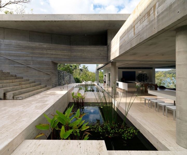 Tropical Minimalism: the Solis Ηouse by Renato d'Ettorre Architects