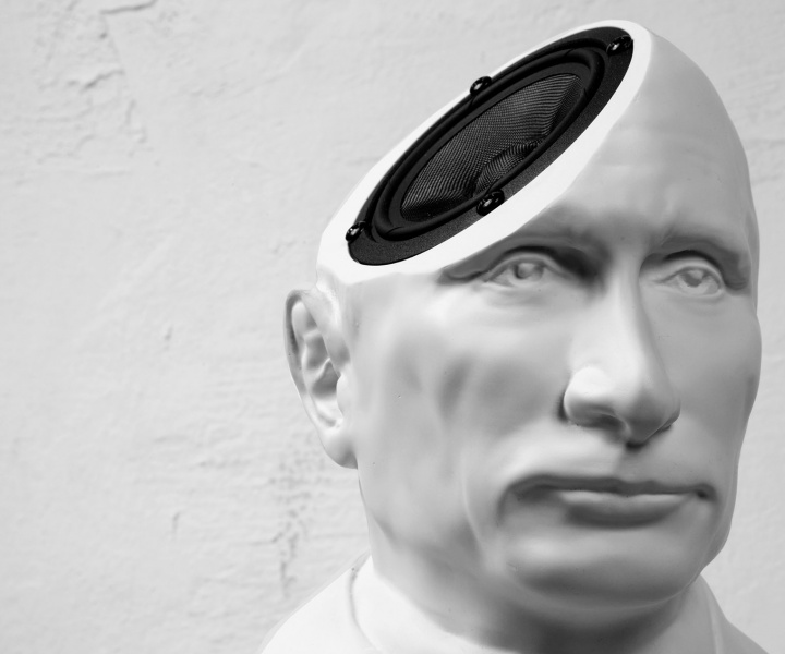 Play Music through Putin's Head with the Limited-Edition 'St.Vladimir' Speaker