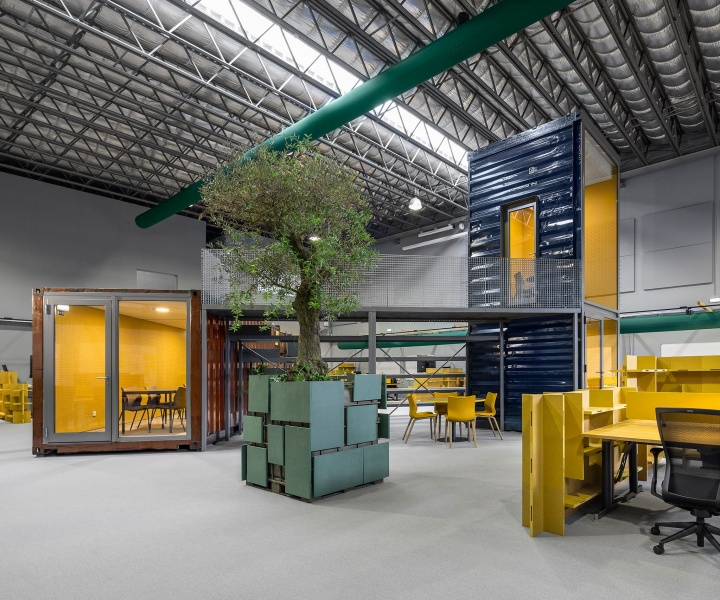A Warehouse in Portugal is Given New Life as a Modern Workplace