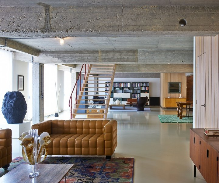 An Objective Canvas: the Idiosyncratic Loft of Studio Job in Antwerp