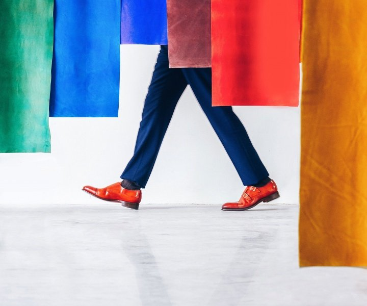 The Technicolor Jazz of Simone Bramante's Tales of Colours Campaign for Santoni