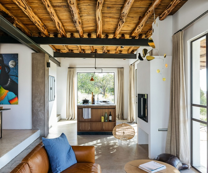 Jurjen van Hulzen Transforms a Rural Warehouse in Ibiza into his Dream Home