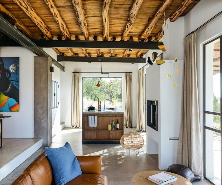 Jurjen van Hulzen Transforms a Rural Warehouse in Ibiza into his Dream Home