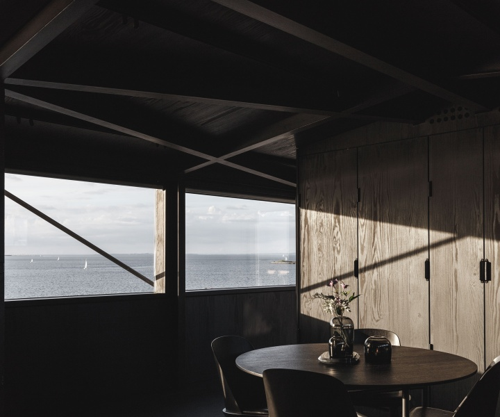 THE KRANE: A Private Retreat Inside an Industrial Crane in Copenhagen