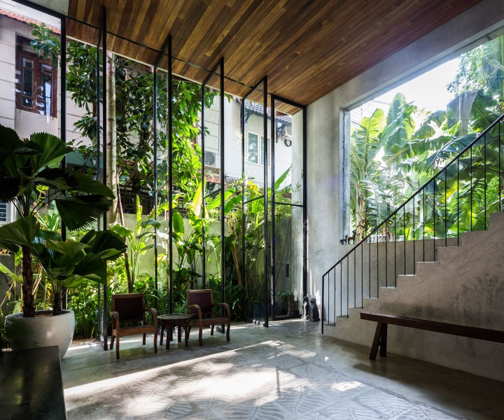 Tropical Shade: Thong House in Vietnam by NISHIZAWAARCHITECTS