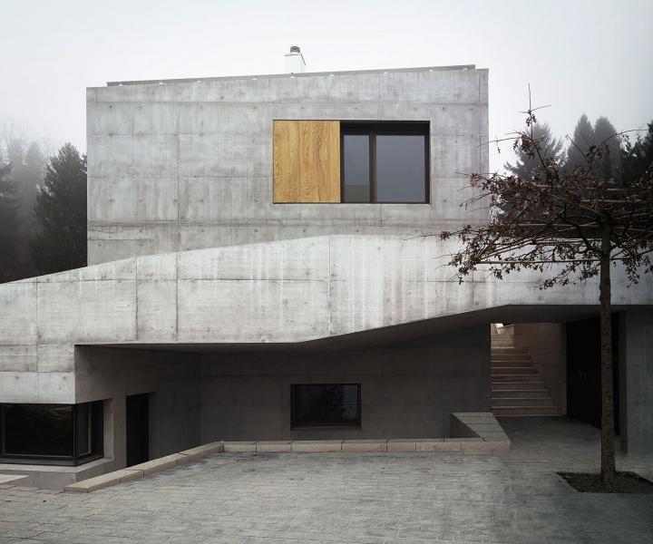 Villa Ensemble Near Zurich, Switzerland by AFGH Architects