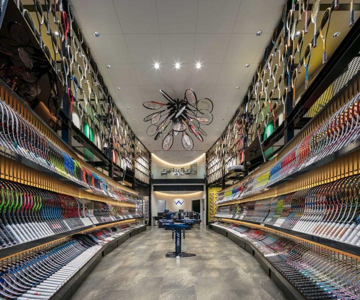 A Tennis Lovers' Dream Shop for WADA Sports in Himeji, Japan