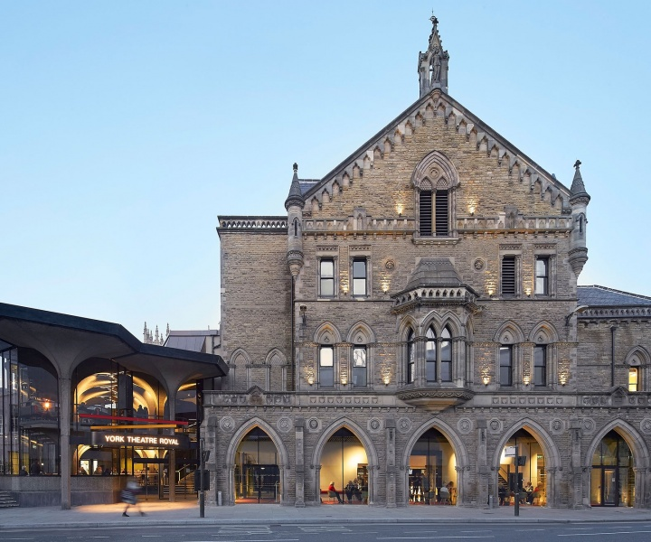 Past and Present Imaginations Coexist in the Redesign of The York Theatre Royal