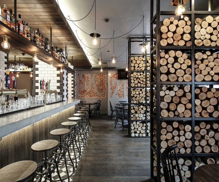 The Warm Industrial Design of Cask 215 in Šiauliai, Lithuania