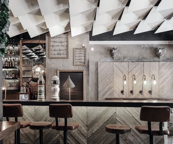 Strange Horse: Cheval Bar and Restaurant in Thessaloniki by Ark4Lab of Architecture