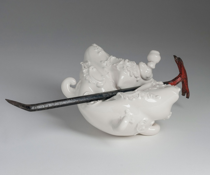 Beautiful Vandalism: Laurent Craste Punishes Porcelain