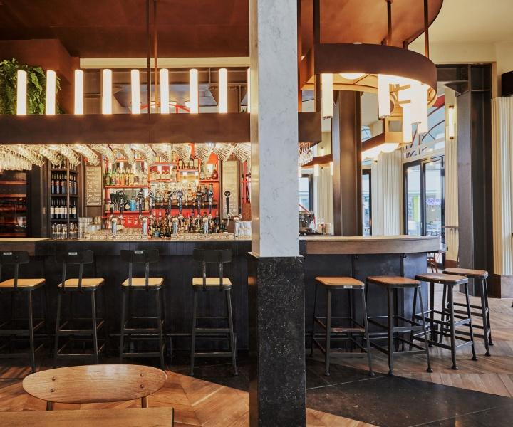 Holy Smoke Bar & Grill in Rotterdam by Studio Modijefsky