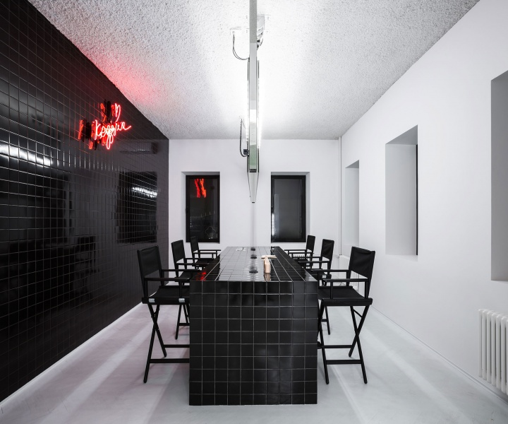 Krygina Make-Up Studio in Moscow by Archiproba Studios
