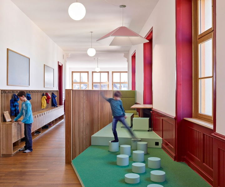 ZMIK Endows a Historic Building in Basel with Playful Learning Spaces