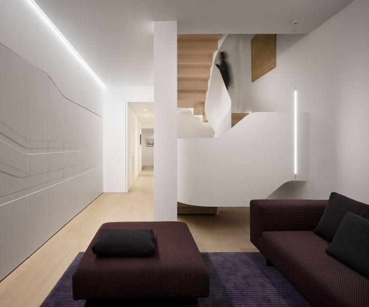 Light Falls: The Sculptural Renovation of a Victorian Terraced House in London