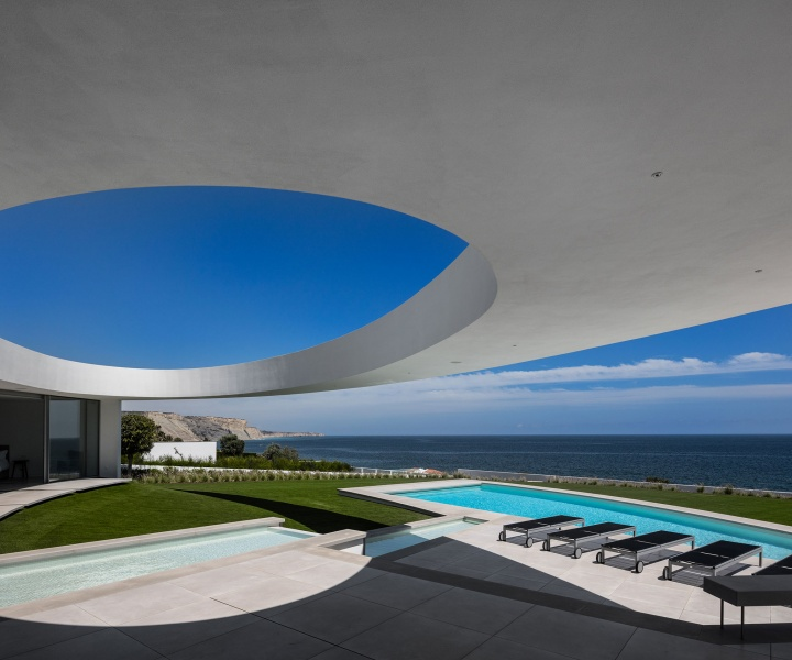 The Elliptic House by Mário Martins Atelier in Lagos, Portugal