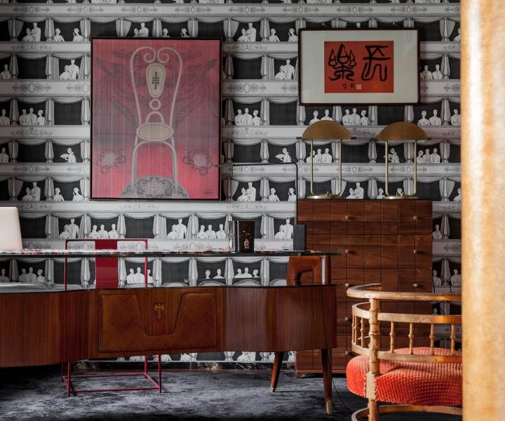 Interior Designer Chasing Wang Jazzes Up his Shanghai Apartment with Mix-and-Match Rigour