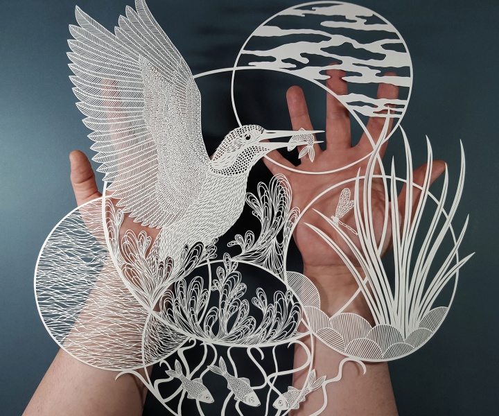 The Crisp Patterns of Pippa Dyrlaga's Paper Art