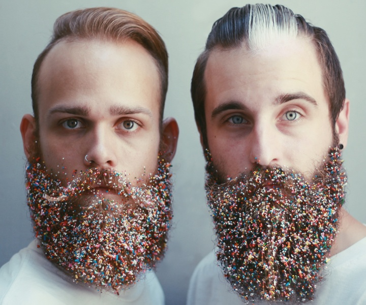 The Gay Beards: Glitter Moustaches and Flower Beards Straight out of Portland, Oregon