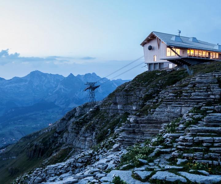 Peak Hour: Gipfelrestaurant on Mount Chäserrugg by Herzog & de Meuron