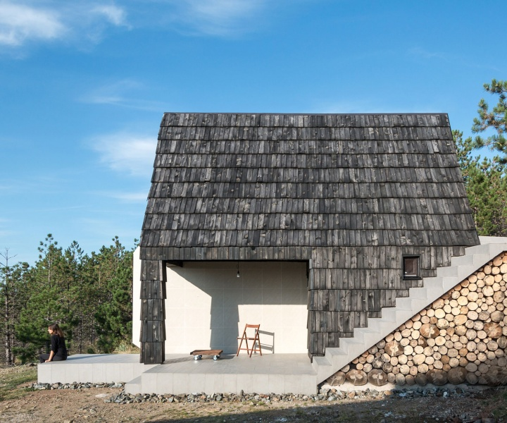 Mountain Home in Divčibare, Serbia by .exe Architects