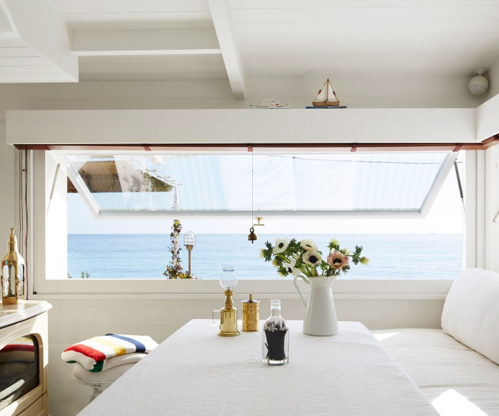 Setting Sail: The Nautical Luxury of a Mediterranean Cabin on the Italian Riviera