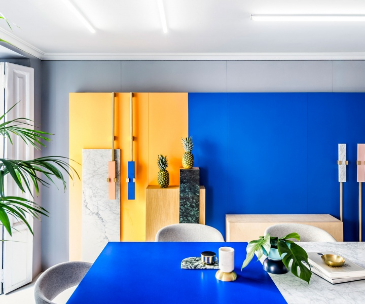 Memphis Revival: Masquespacio's Renovated Design Studio in Valencia, Spain