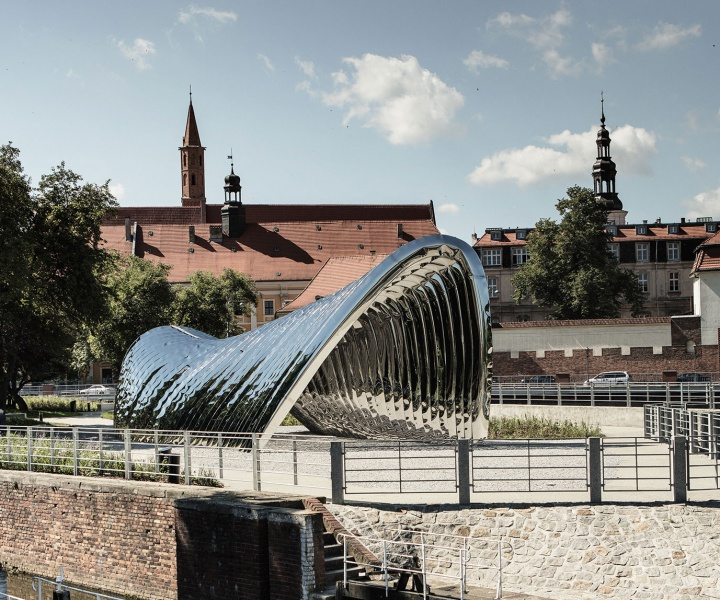 NAWA: A Bionic Public Sculpture that Celebrates Wrocław's Architectural Heritage