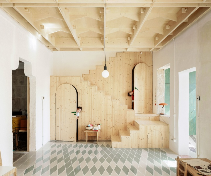 Plywood House Celebrates Mallorca's Rich Tradition of Handicrafts