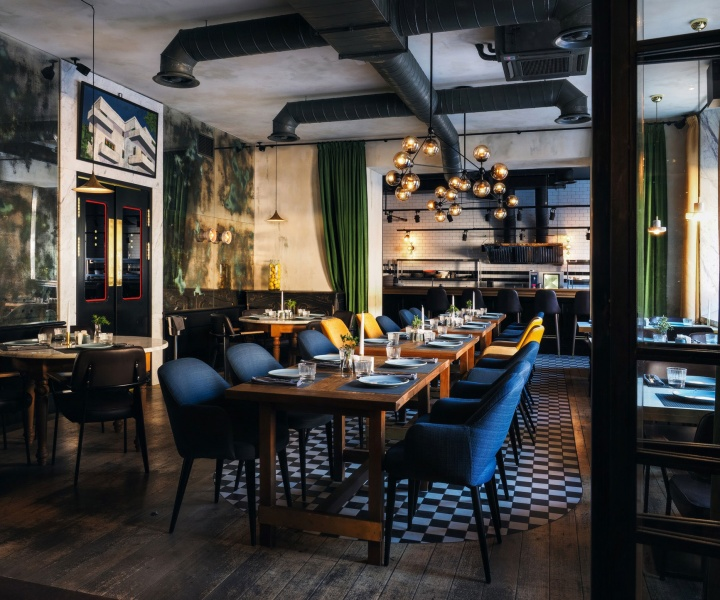 A Mediterranean Restaurant in St. Petersburg Intimately Channels Tel Aviv's Authentic Vibe