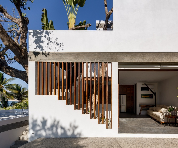 A Beachfront Residence in Mexico Revels in Tropical Lushness