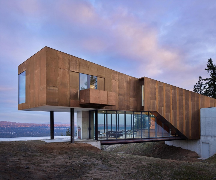 Artful Natural Living at Rimrock, a Private Home in Washington by Olson Kundig Architects