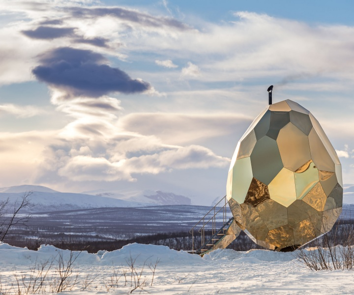 Sunny All Sides: The SOLAR EGG Installation by Bigert & Bergström