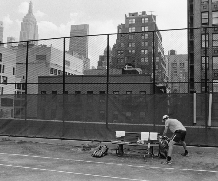 Stephan Würth Captures his Life as a Tennis Fan in a New Book of Evocative Photographs