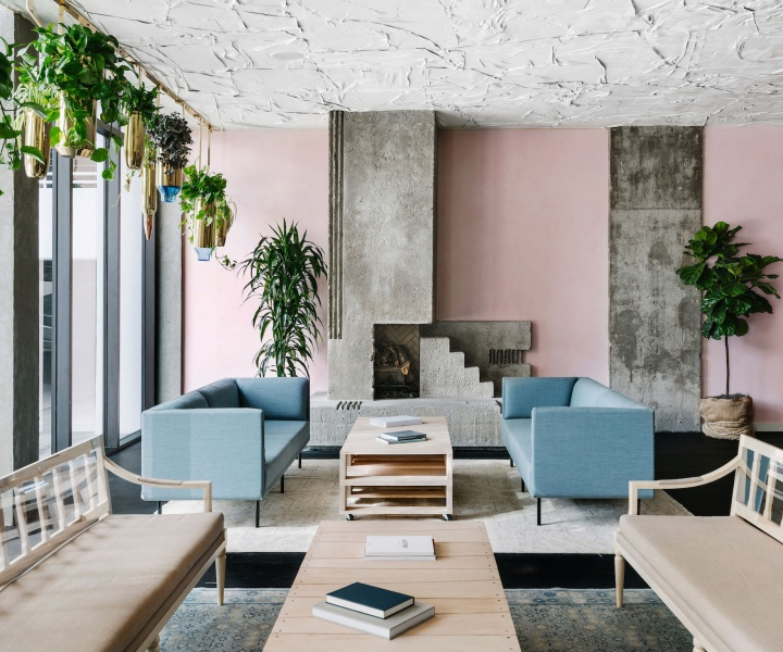 The LINE Hotel Revamps a Modernist Landmark in Austin