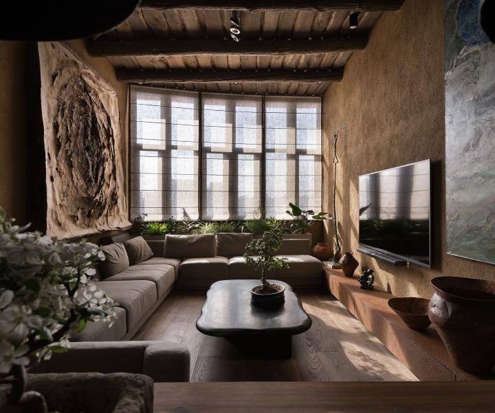 Imperfection is Beautiful: the Wabi Sabi Apartment by Sergey Makhno in Kiev, Ukraine