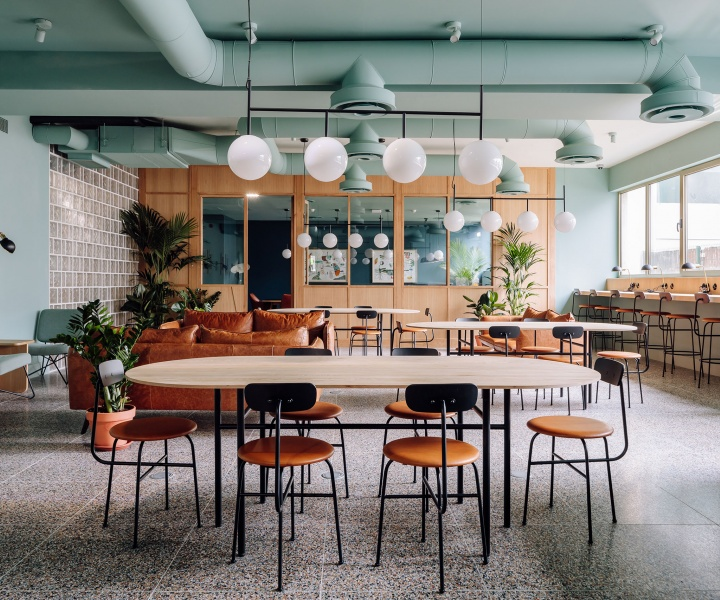 A Shared Workspace by Anahory Almeida in Lisbon Blurs the Line Between Work and Leisure