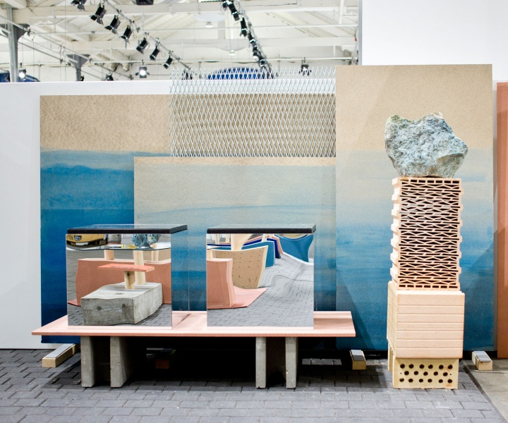 Wood Wood's Trade Booth at Copenhagen Fashion Week by Spacon & X